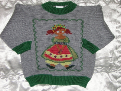 pull tricot enfant